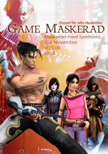 gamemaskerad
